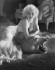 Jean Harlow and the Bear Skin Rug for Vanity Fair – Lighting Diagram
